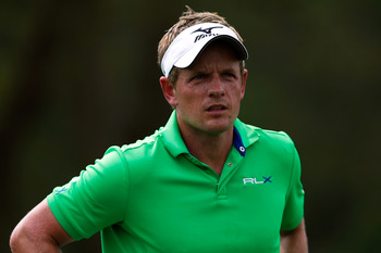 Luke Donald hasn't been able to see his way to a major title.