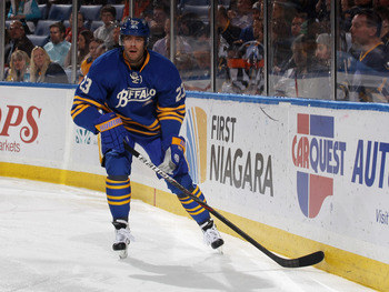 Ville Leino was the poster child for the Sabres' unfulfilled expectations last year.