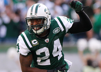 Darrelle Revis is head-and-shoulders above the other cornerbacks in the NFL.