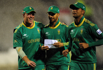 The South Africans will be all smiles.