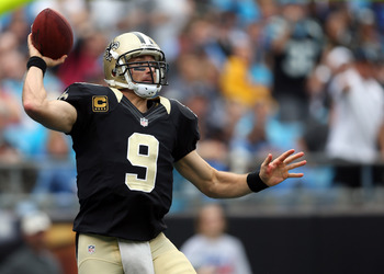 Brees is set for a big game against the Chiefs.