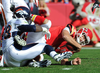 Matt Cassel on the ground is a familiar sight to any Chiefs fan.