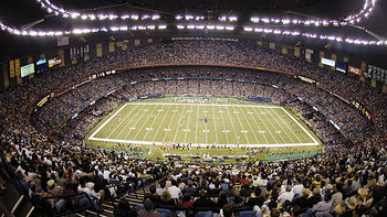The Superdome is going to get loud this weekend. Espn.com