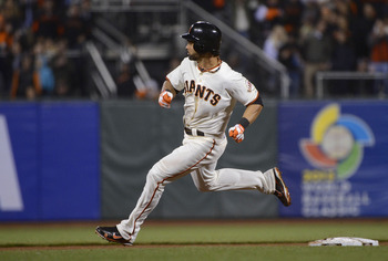 Angel Pagan set an all-time Giants record with 14 triples