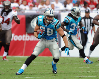 Greg Olsen is already showing he is ready to be a top tight end