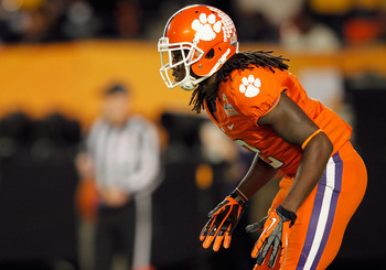 Sammy Watkins getting ready