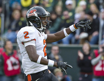 Markus Wheaton is a dangerous player for the Beavers