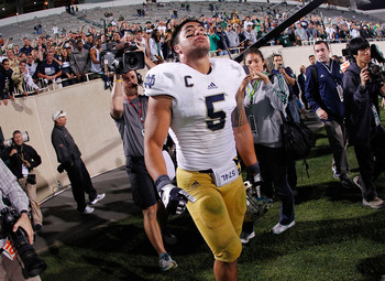 Manti Te'o and the Notre Dame Fighting Irish front seven could cause plenty of problems for the Michigan Wolverines.