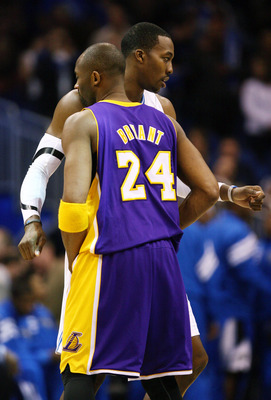 Kobe Bryant and Dwight Howard aren't guaranteed to work out.