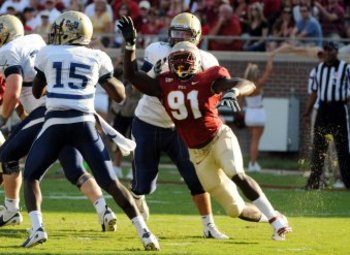 Tank Carradine is making the most of his opportunities at FSU
