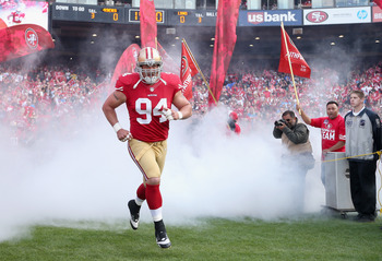 Justin Smith—the strongest man in the NFL.