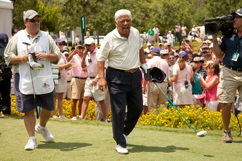 Lee Trevino joked all the way through his golf career.