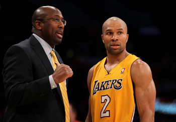 Derek Fisher came up big over and over for Lakers, especially in crunch time of playoffs.