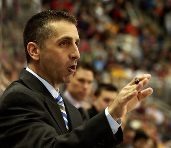 Hershey Bears head coach Mark French (Chris Knight/The Patriot-News)