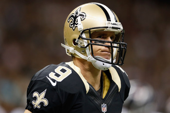 Quarterback Drew Brees can't afford to let his Saints fall to 0-3.