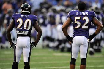 Future Hall-of-Famers Ed Reed and Ray Lewis have lead the Ravens defense for a decade.