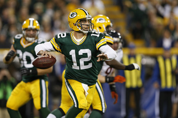 Aaron Rodgers, the 2011 NFL MVP, will be too talented for Seattle's defense.