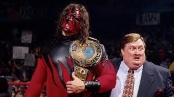 Ohh yesss!! My son Kane!!!! Photo by WWE