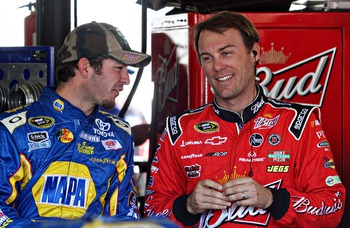 Martin Truex Jr. (left) and Kevin Harvick need to win big time.