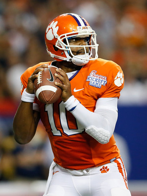 Clemson QB Tajh Boyd needs to keep his cool in Tallahassee.