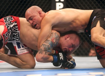 Lance Benoist may be cut from the UFC after losing tonight at UFC 152.