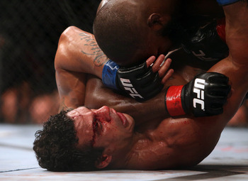 Vitor Belfort was absolutely dominated by Jon Jones.