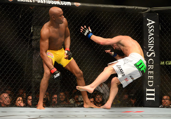 Anderson Silva proves why he is the best in the world every time he step in the octagon.