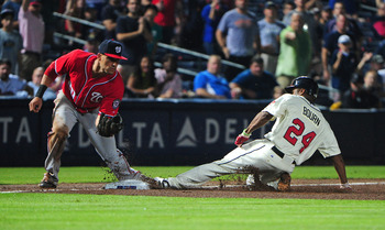 Michael Bourn only has two stolen bases in September.