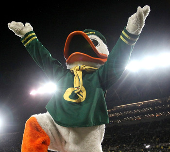 The Oregon Ducks moved up in both polls this week, but how far did they climb?