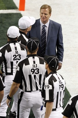 When Roger Goodell and the lockd-out referees were on speaking terms.