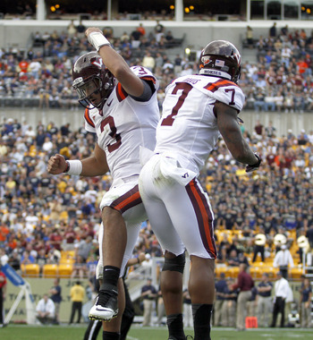 Logan Thomas and the Virginia Tech Hokies regained some of their mojo on Saturday.