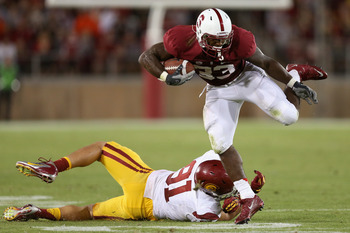 Stepfan Taylor and the Stanford Cardinal had a week off to enjoy their victory over the USC Trojans.