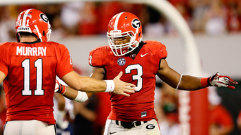 Aaron Murray and the Georgia Bulldogs will battle the Tennessee Volunteers this weekend.