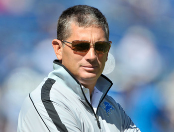 Jim Schwartz wasn't looking so cool after Sunday's loss to the Titans.
