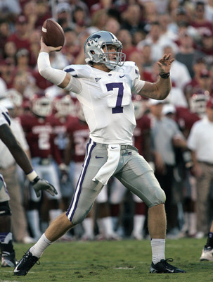 Collin Klein against Oklahoma