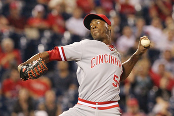 Aroldis Chapman anchors a dominant and intimidating group of relievers in Cincy's bullpen.