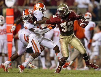 The Florida State Seminoles looked impressive offensively against the Clemson Tigers.