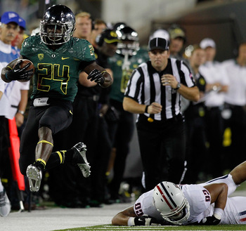 The Oregon Ducks are flying high and running all over opposing defenses.