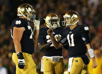The Notre Dame Fighting Irish finally look like they are for real this season.