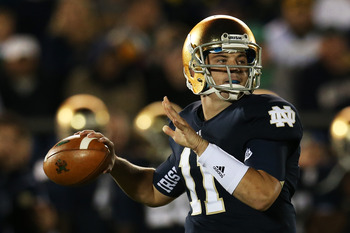 Notre Dame senior Tommy Rees will be the subject of discussion this week.