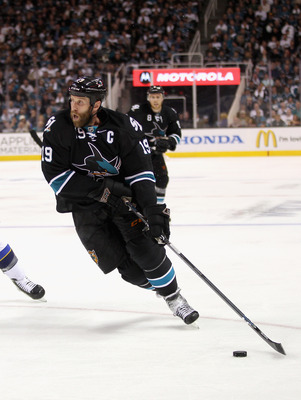 Joe Thornton is one of the few players on the Sharks that will not benefit from the lockout.