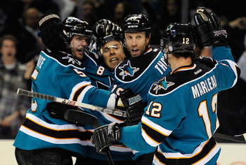 The Sharks have made the Western Conference Championship two out of the last three years.