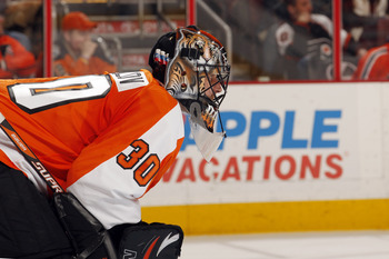Bryzgalov might not have to be looking at his confidence skating away from him anymore after this season