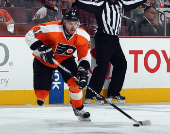 Meszaros is one of the many injuries facing the Flyers