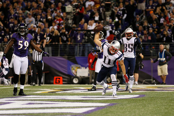 Edelman found the end zone, while Welker racked up yards.