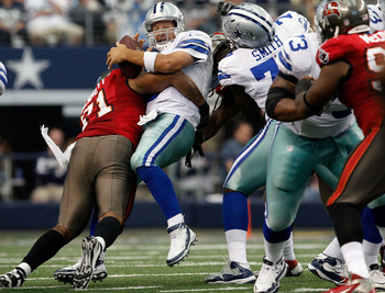The offensive line of the Cowboys have struggled consistently.