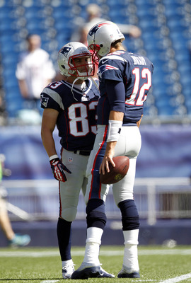 Brady and Welker have a special bond on the field.