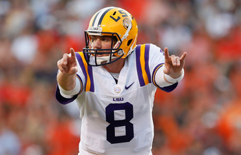 LSU QB Zach Mettenberger