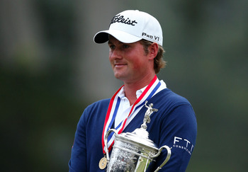 Webb Simpson won the 2012 U.S. Open at Olympic Club.