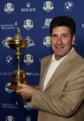 Europe currently owns the Ryder Cup.